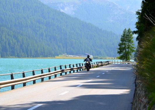 Images panoramiques voyage à moto augustin de chassy