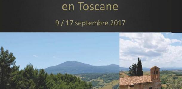 Affiche Toscane Agen Limoges